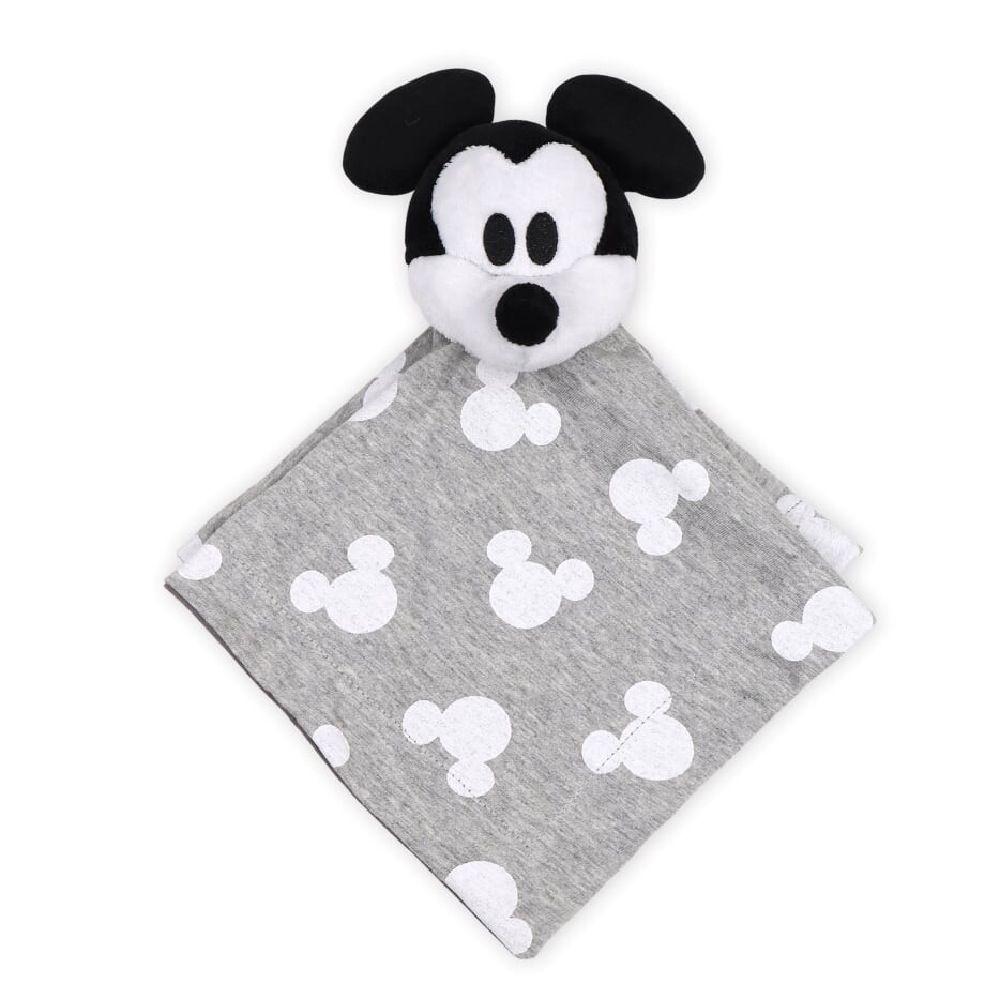Disney Mod Mickey Security Blanket White & Grey image 0