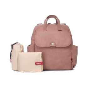 Babymel Backpack Nappy Bag Robyn Pink Faux Leather