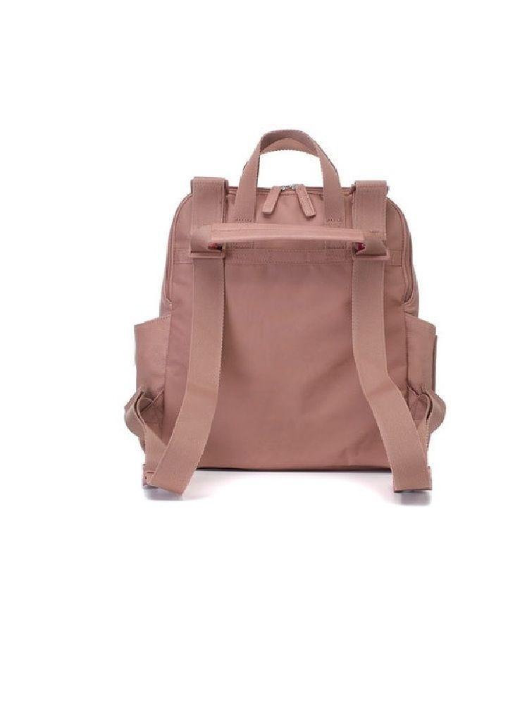 Babymel Backpack Nappy Bag Robyn Pink Faux Leather image 3