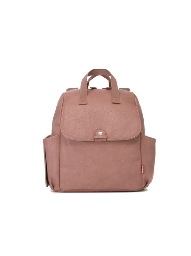 Babymel Backpack Nappy Bag Robyn Pink Faux Leather image 5