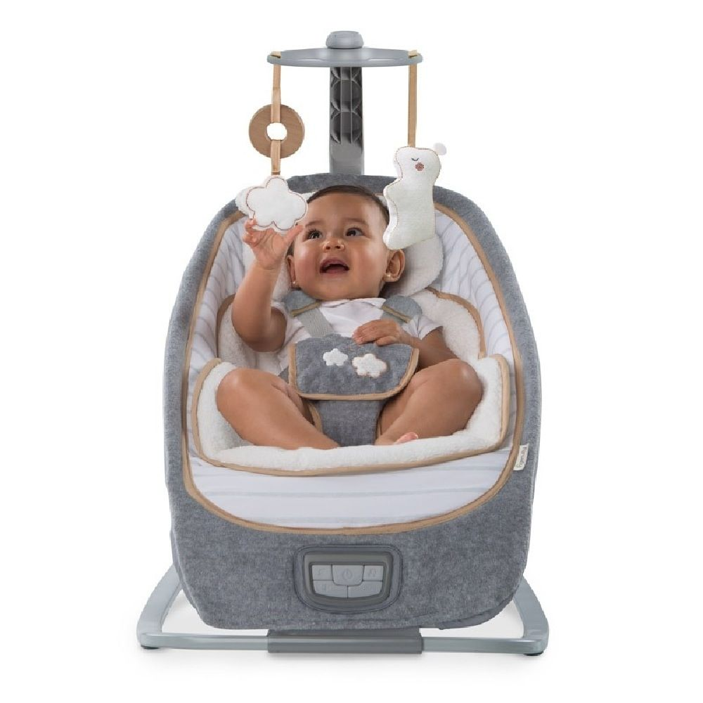 Ingenuity Boutique Collection Rocking Seat Bella Teddy image 9