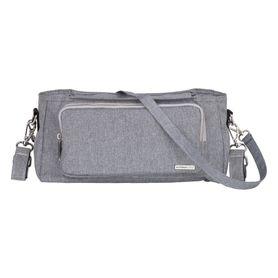 Outlook Baby Pram Caddy With Shoulder Strap Grey Melange