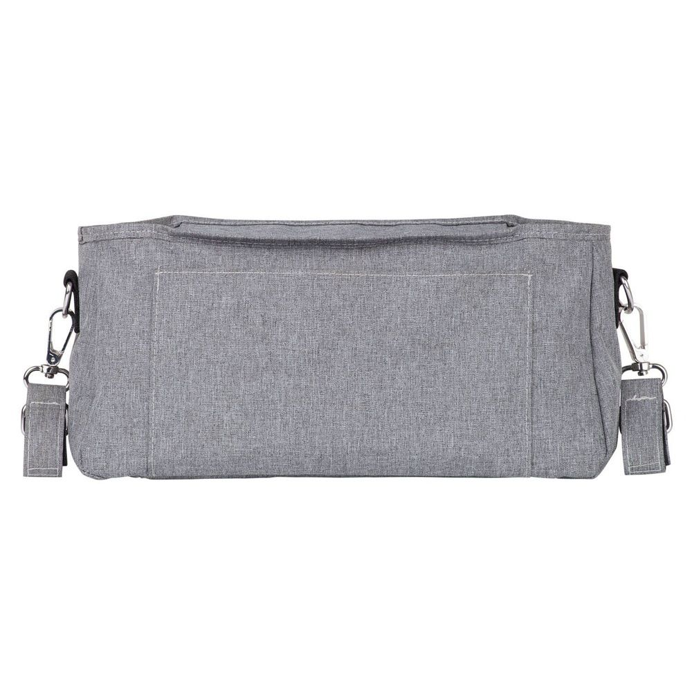 Outlook Baby Pram Caddy With Shoulder Strap Grey Melange image 9