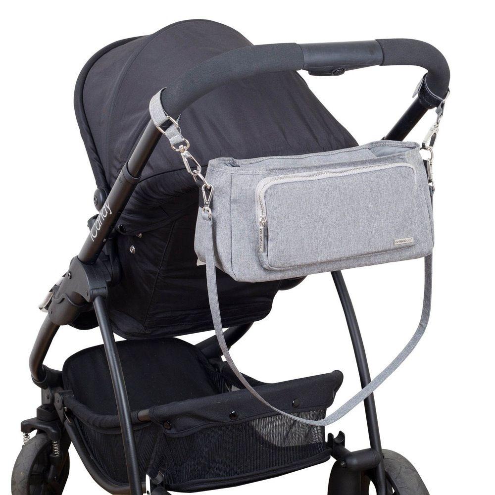 Outlook Baby Pram Caddy With Shoulder Strap Grey Melange image 10