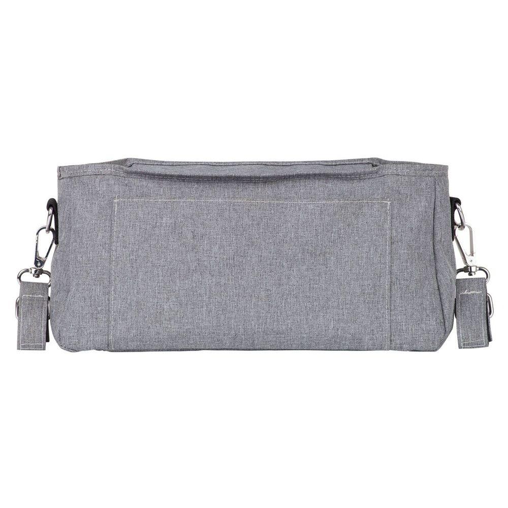 Outlook Baby Pram Caddy With Shoulder Strap Grey Melange image 3
