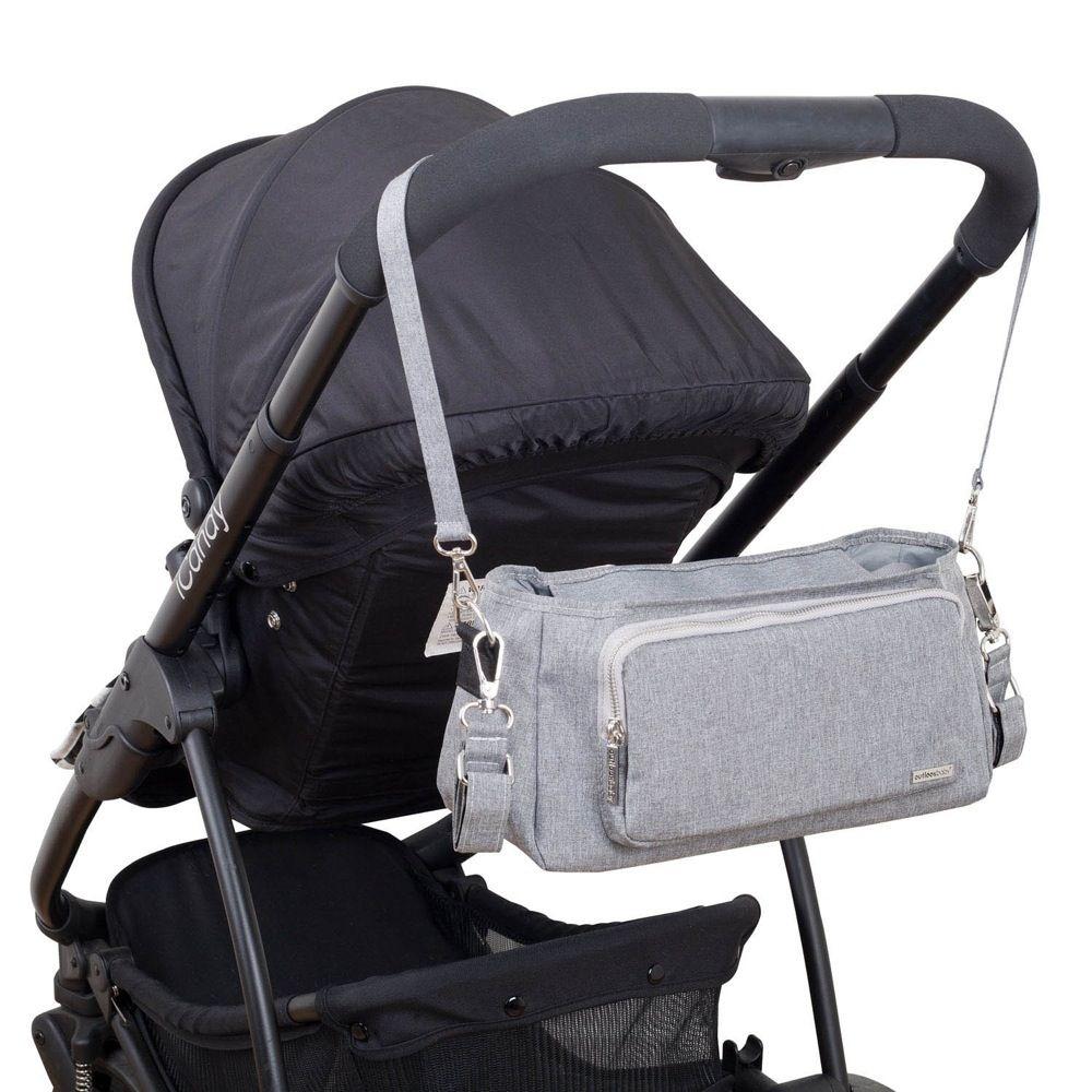 Outlook Baby Pram Caddy With Shoulder Strap Grey Melange image 8