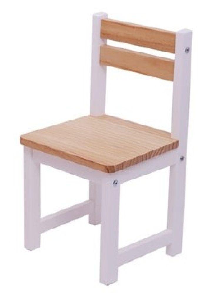 Tikk Tokk Little Boss Envy Timber Table & Chair Set White/Natural image 2