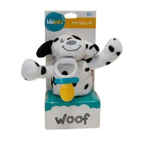 Bibipals Plush Woof Dog White & Black Spots