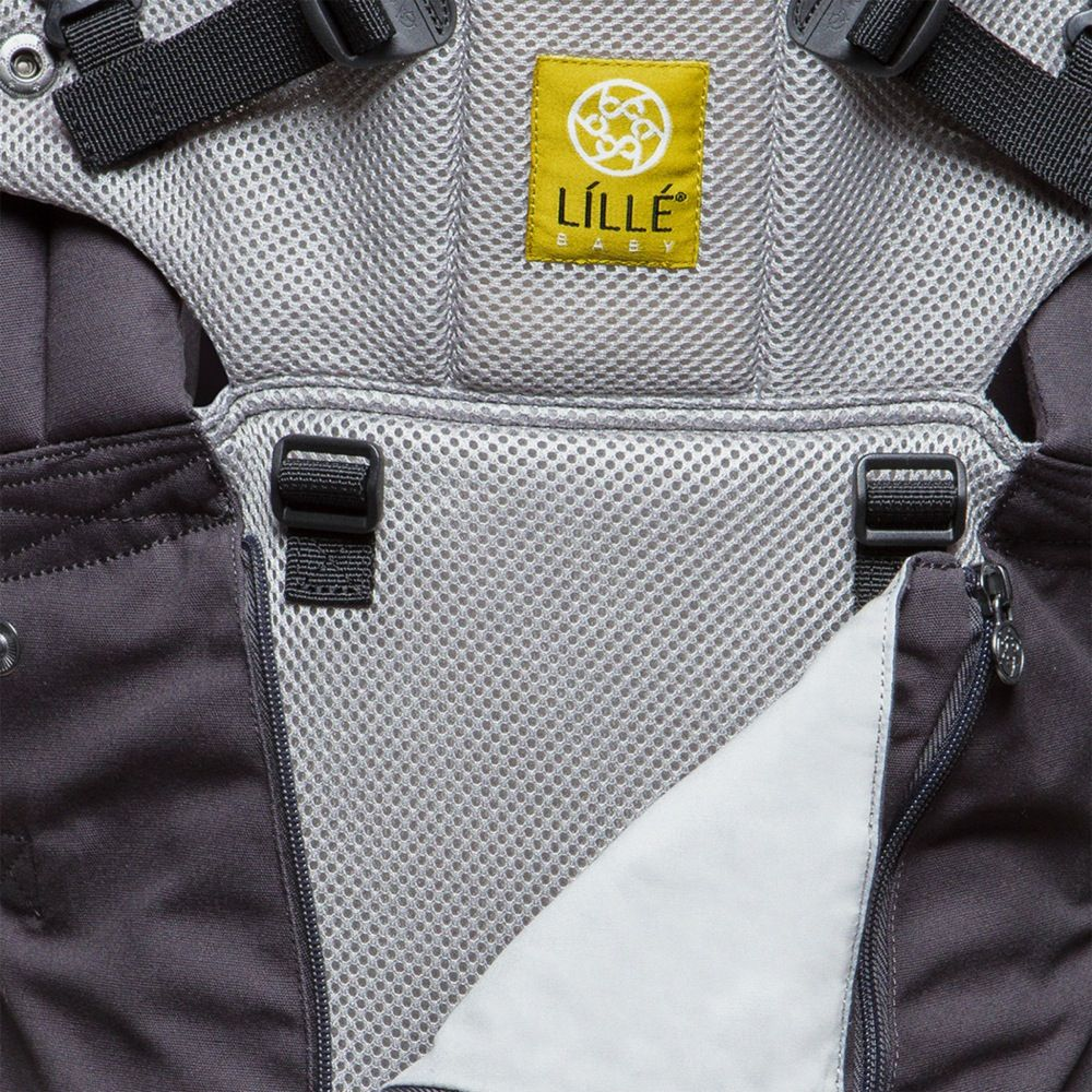 LilleBaby Complete All Seasons Charcoal/Silver image 1
