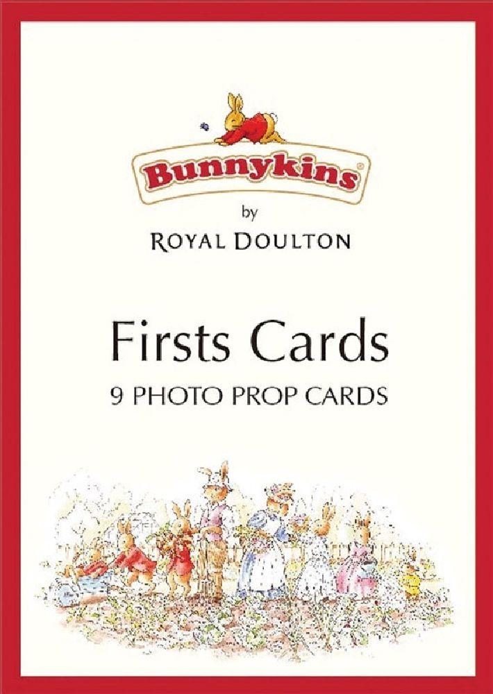 Bunnykins Milestone Cards 9 Pack image 0
