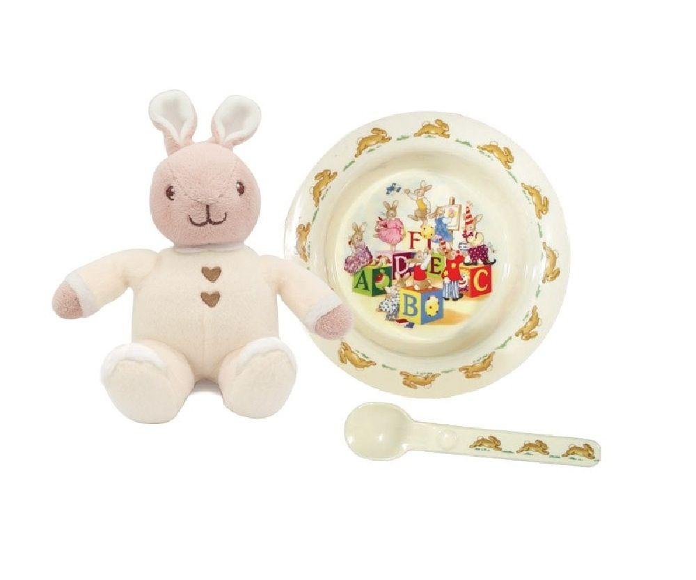 Bunnykins Feeding Gift Pack Cream