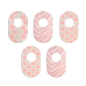 The Peanut Shell Closet Dividers Pink