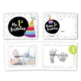 Baby Made My 1st Birthday Inkless Print & Display Keepsake