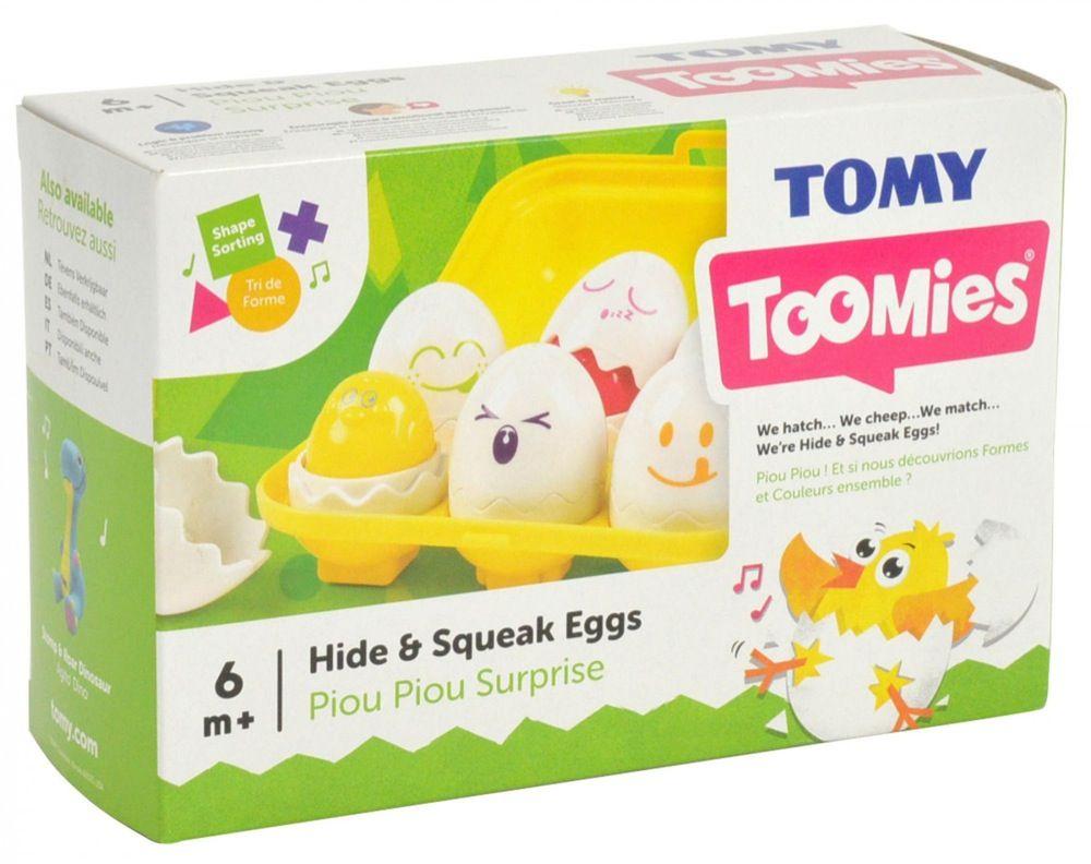 Tomy Toomies Hide & Squeak Eggs image 9