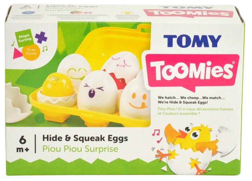 Tomy Toomies Hide & Squeak Eggs image 8