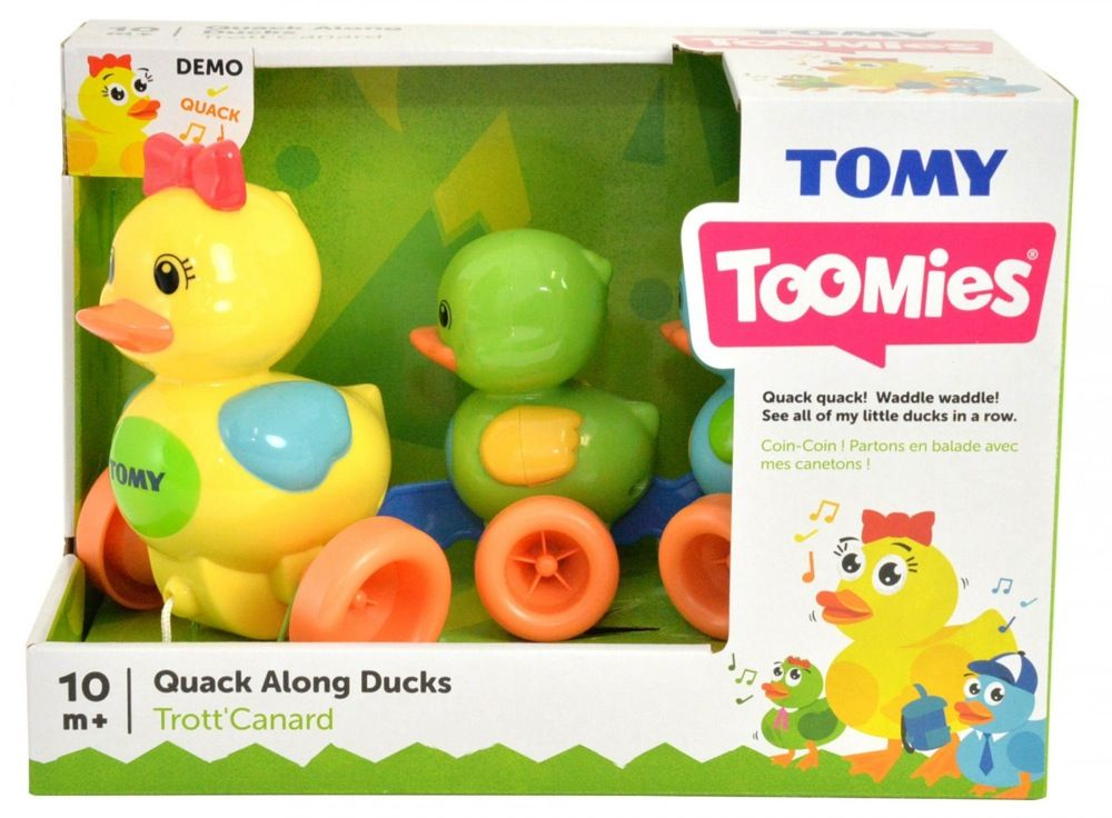 Tomy Toomies Quack Along Ducks image 4