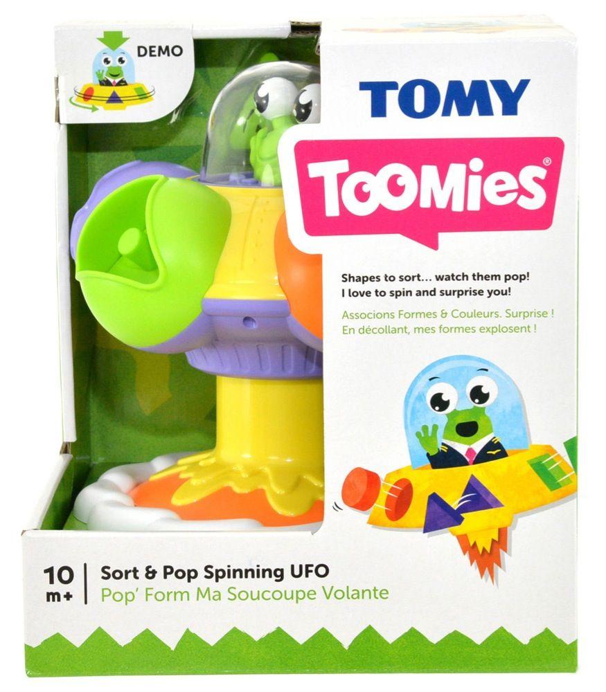 Tomy Toomies Sort & Pop UFO image 5