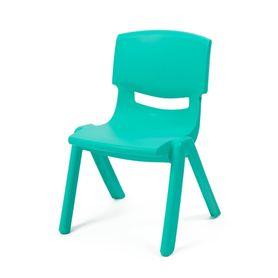 4Baby Plastic Kids Chair Aqua