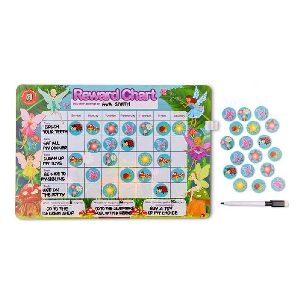 Learning Can be Fun Magnetic Reward Chart Fairy image 0