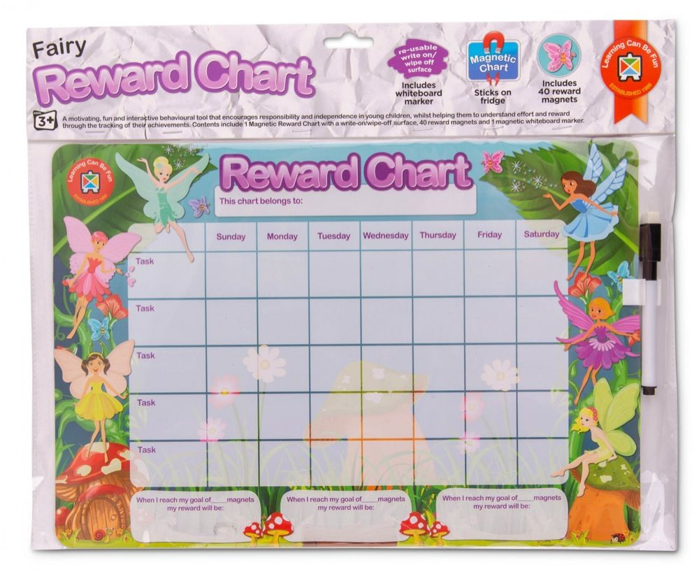 Learning Can be Fun Magnetic Reward Chart Fairy image 1