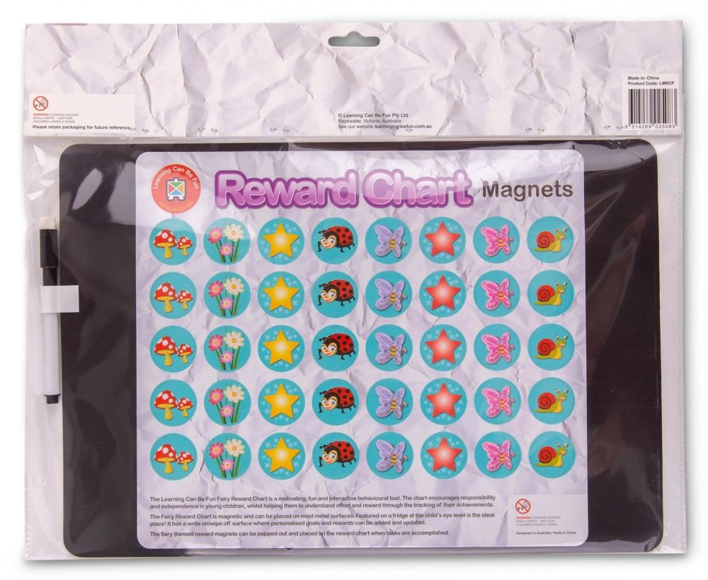 Learning Can be Fun Magnetic Reward Chart Fairy image 2