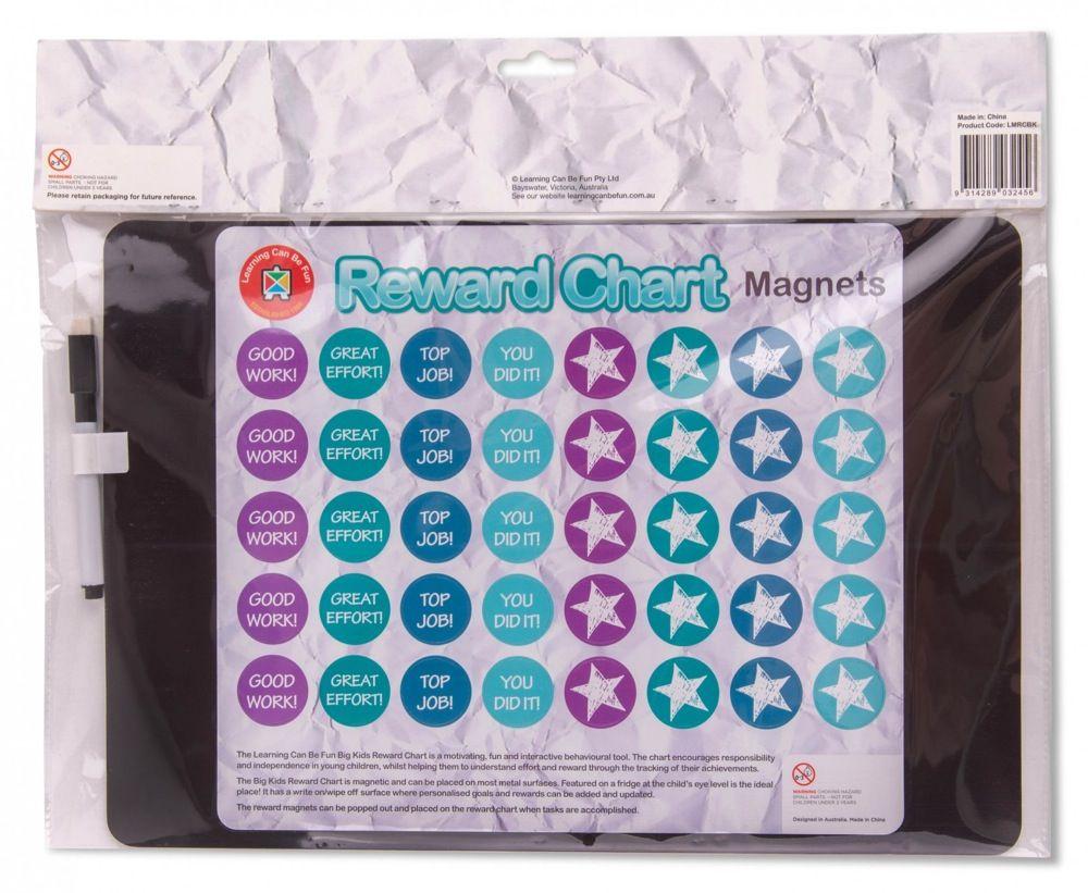 Learning Can be Fun Magnetic Reward Chart Big Kids image 2