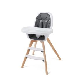 4Baby Icon 2-in-1 Wooden High Chair