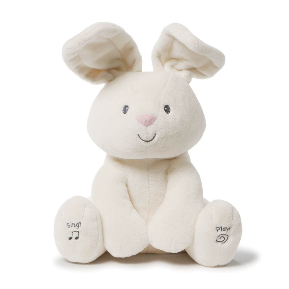 Baby Gund Flora Bunny Animated image 0