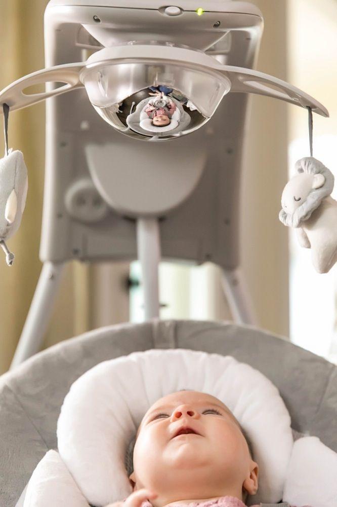 Ingenuity DreamComfort InLighten Cradling Swing - Braden image 6