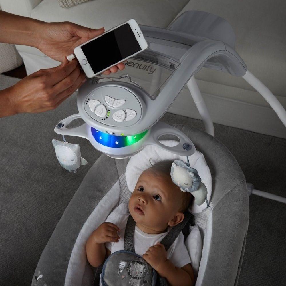 Ingenuity DreamComfort InLighten Cradling Swing - Braden image 7