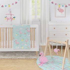 Lolli Living Flamingo Nursery Set 4 Piece