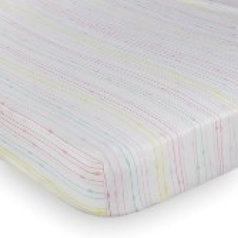 Lolli Living Flamingo Rainbow Cot Fitted Sheet image 0