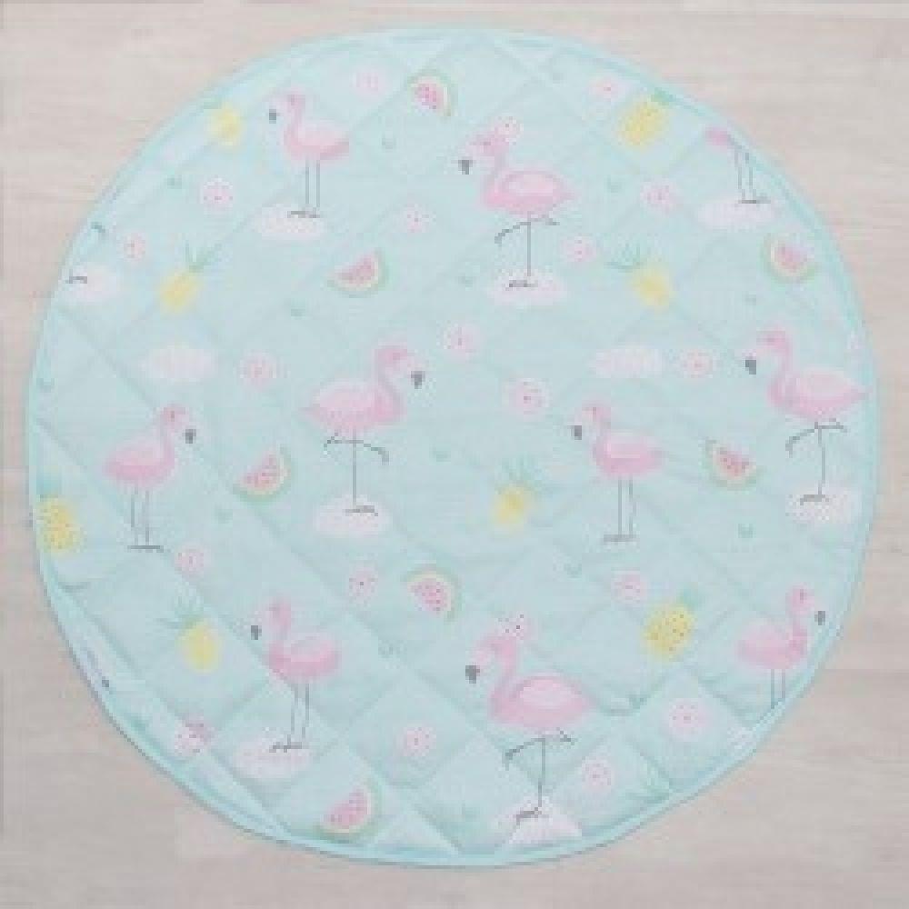 Lolli Living Flamingo Round Play Mat image 2