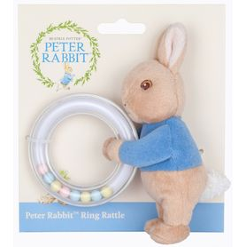 Beatrix Potter Peter Rabbit Ring Rattle Peter