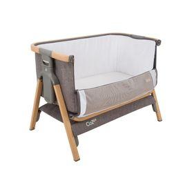 Tutti Bambini Cozee Co-Sleeper Bassinet Oak / Charcoal