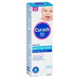 Curash Nappy Rash Cream 100g