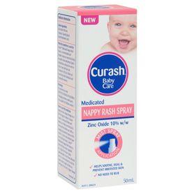 Curash Nappy Rash Spray 50ml