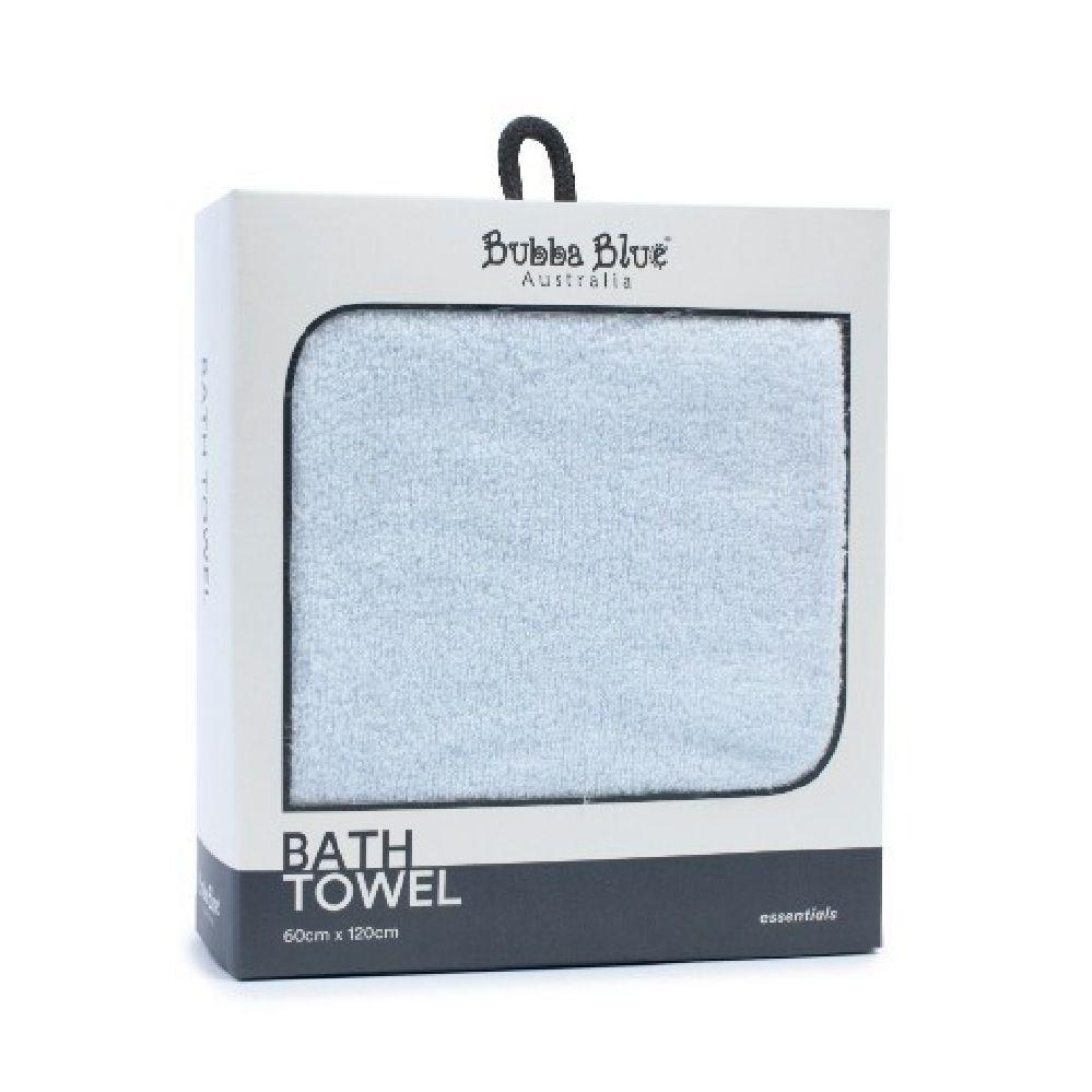 Bubba Blue Essentials Bath Towel Blue (Online Only)