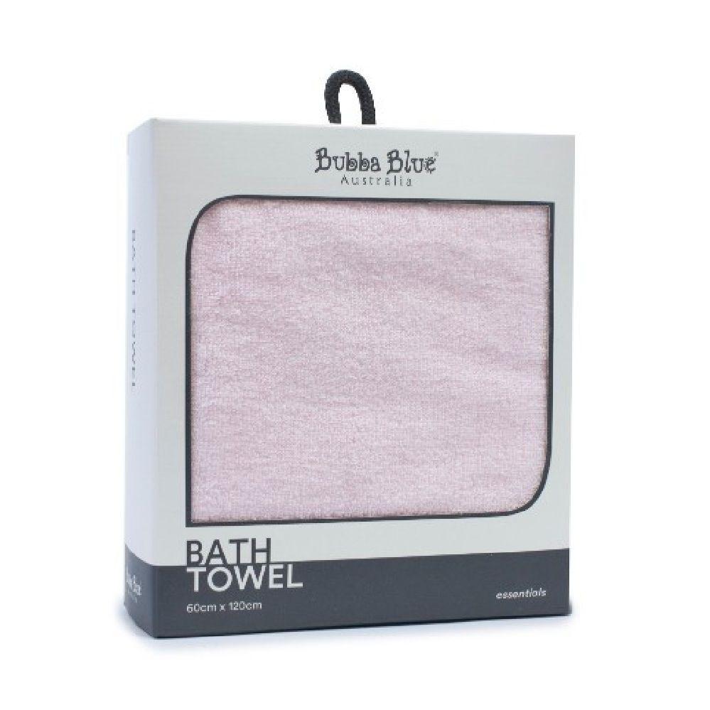 Bubba Blue Essentials Bath Towel Pink
