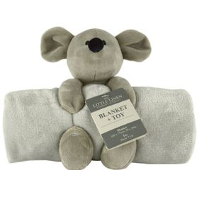 The Little Linen Company Blanket & Plush Toy Mouse