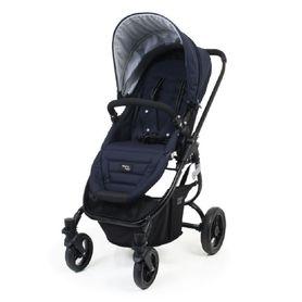Valco Baby Snap Ultra Stroller Navy/ Black Frame