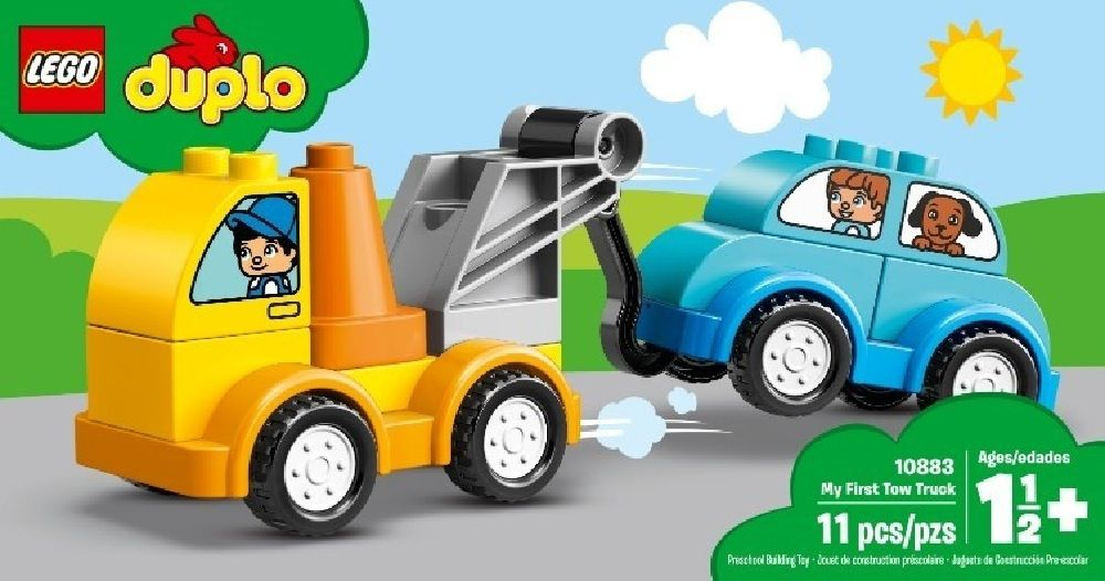 LEGO® DUPLO® My First Tow Truck image 3