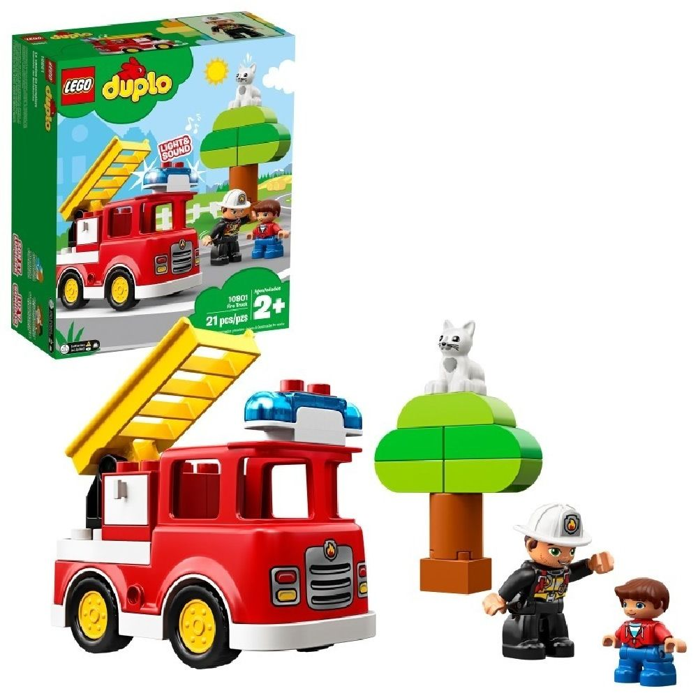 LEGO® DUPLO® Fire Truck Light & Sound image 0