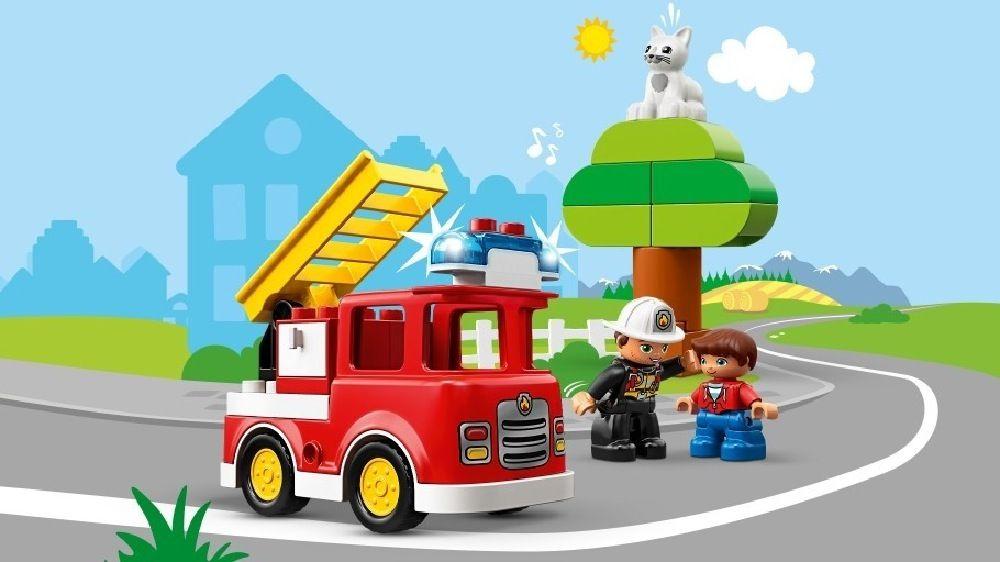 LEGO® DUPLO® Fire Truck Light & Sound image 7