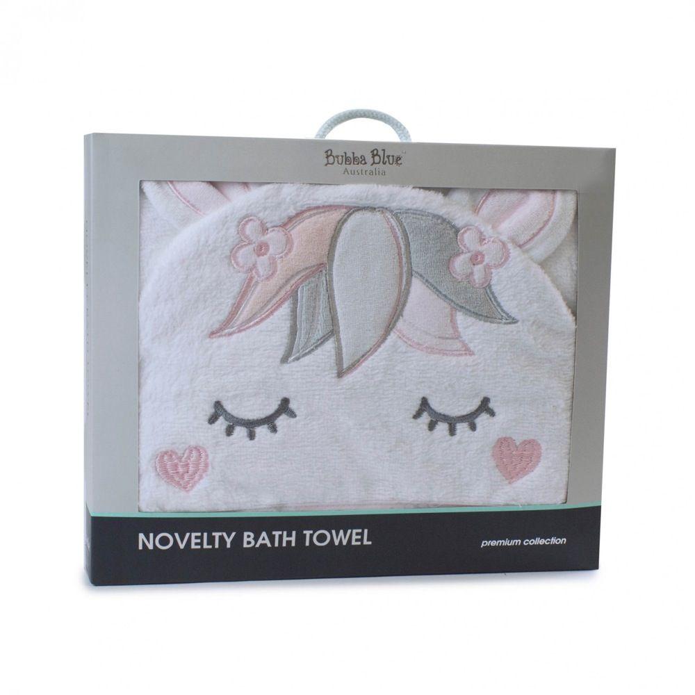 Bubba Blue Unicorn Magic Novelty Bath Towel image 1