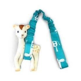 Outlook Toy Strap Teal Giraffe