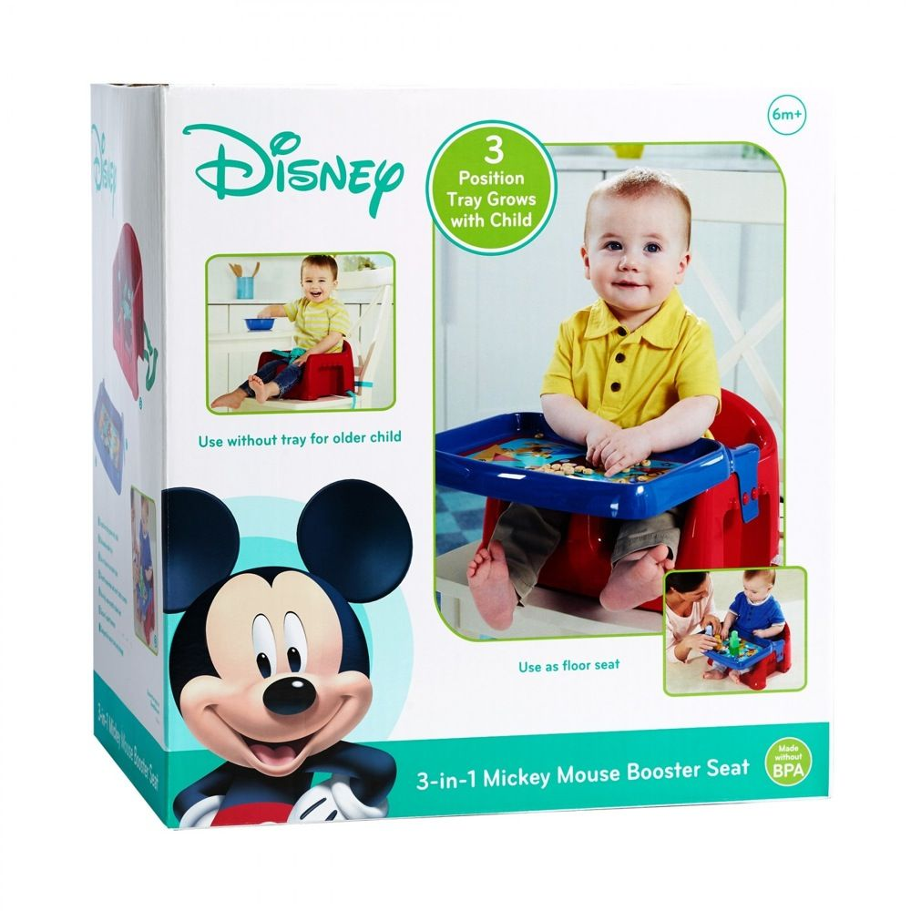 First Years Mickey Mouse 3 In 1 Feeding Booster Seat image 5