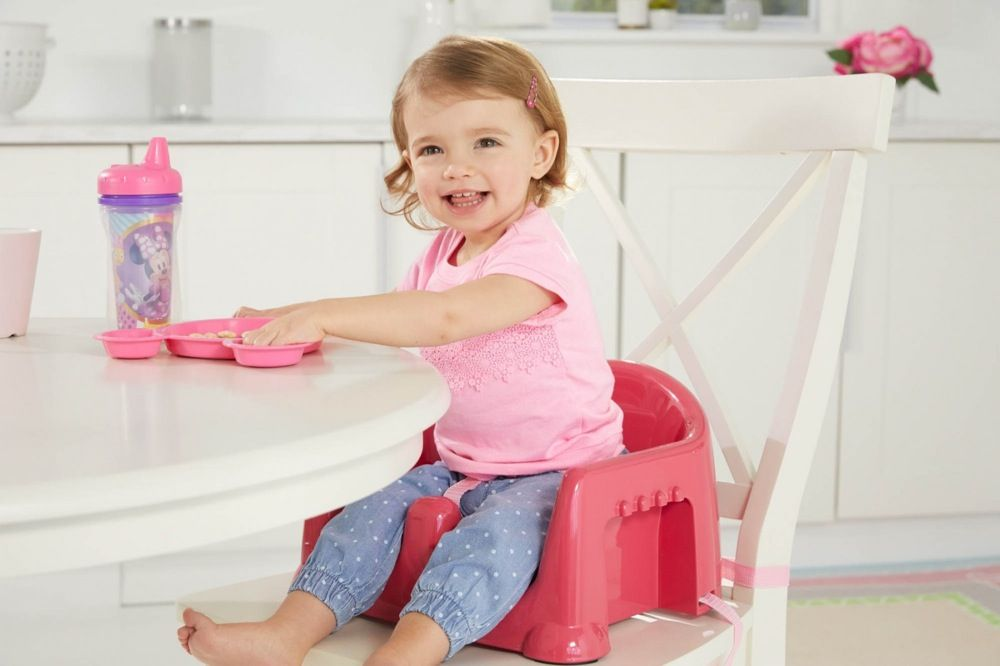 First Years Minnie Mouse 3 In 1 Feeding Booster Seat image 3
