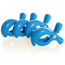 Dreambaby Stroller Clips 4pk Royal Blue