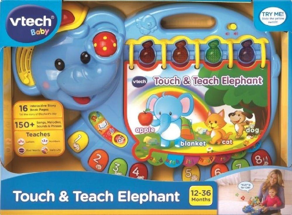 Vtech Touch & Teach Elephant image 1